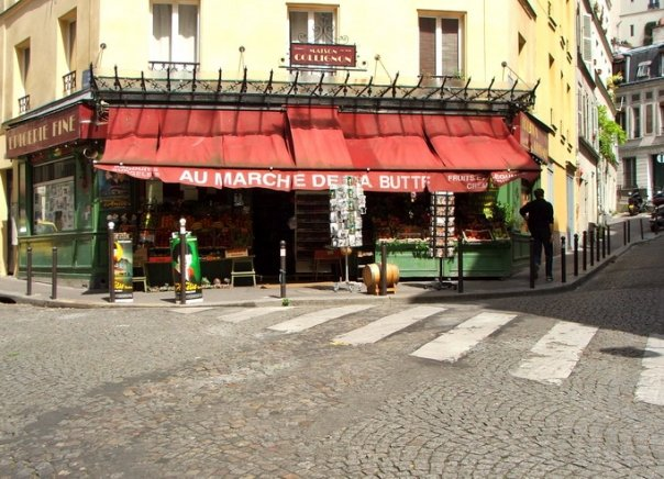 Au Marche de la Butte (at 56 rue des Trois Freres) - the store from the Amelie movie