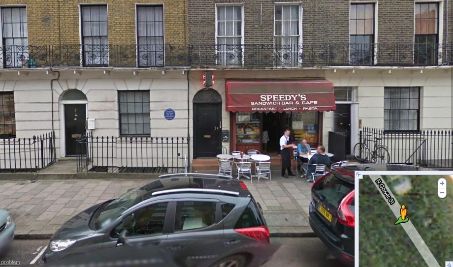 Speedy's – Sandwich Bar from the TV drama Sherlock ...