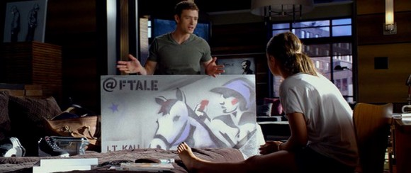 """Check more details about L.T. Kali in blog post """"Product placement in pictures: Friends with Benefits"""""""