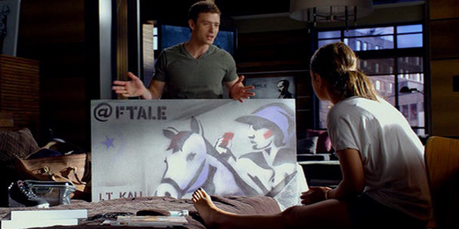 Product placement in pictures: Friends With Benefits