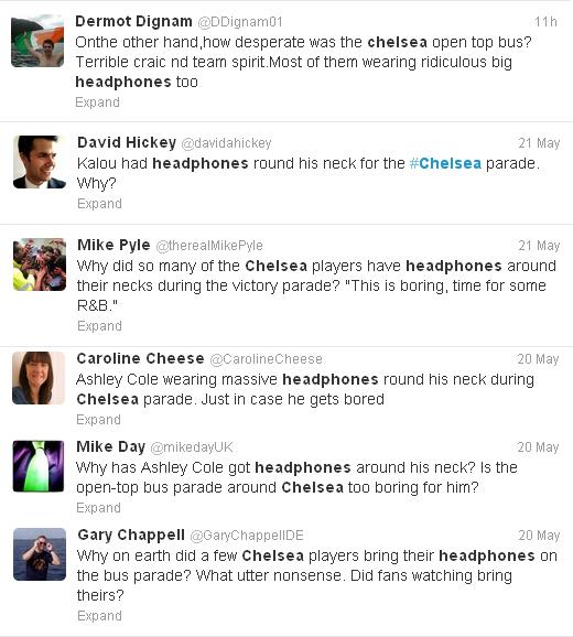Negative response on Twitter