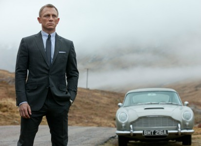 Aston Martin DB5 from Skyfall