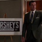 Hersheys in Mad Men