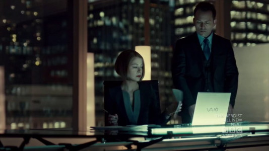 Sony Vaio from Orphan Black (2013, BBC America, screen capture)