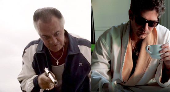 Paulie Walnuts and Christopher Moltisanti