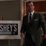 Hershey's in Mad Men