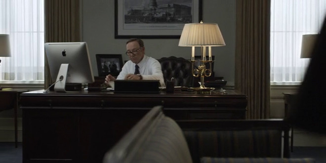 Product placement slideshow: House of Cards 2