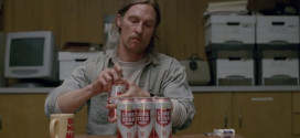Lone Star beer in True Detective