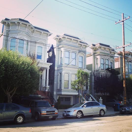 House from Full House in San Francisco (photo by Erik R.)