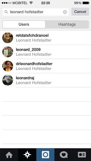 Leonard Hofstadter on Instagram
