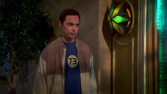 Sheldon Cooper from The Big Bang Theory (2014, CBS, screen capture)