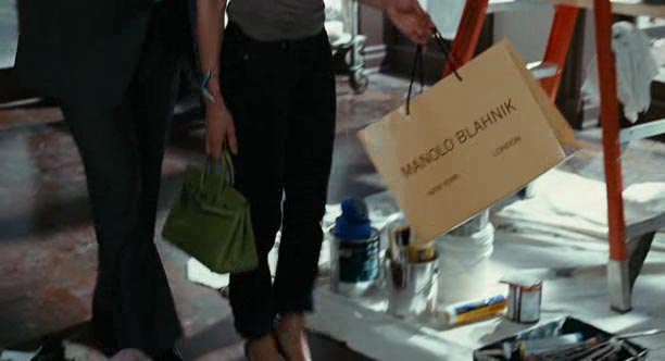 Manolo Blahnik in the movie Sex and the City (2008, New Line Cinema, screen capture)