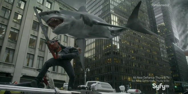 Product placement in pictures: Sharknado 2 The Second One