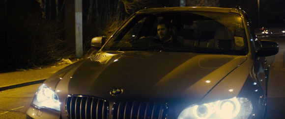 BMW X5 in Locke (2013, A24, screen capture)