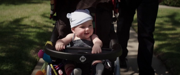 Safety 1st stroller in Neighbors (2014, Universal, screen capture)