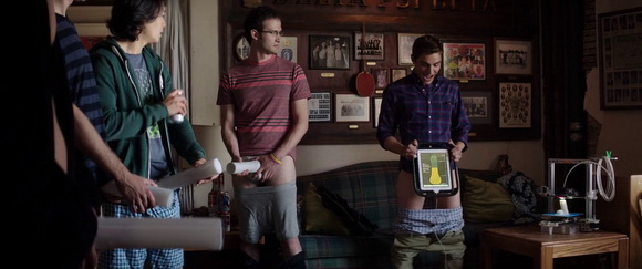 iPad in Neighbors (2014, Universal, screen capture)