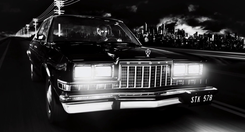 Dodge from Sin City: A Dame to Kill For (2014, Dimension Films, screen capture)