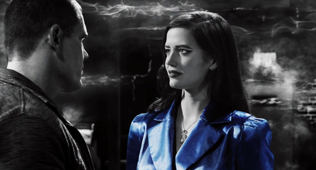 Eva Green from Sin City: A Dame to Kill For (2014, Dimension Films, screen capture)