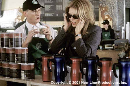 Starbucks in I Am Sam (2001, New Line Cinema)