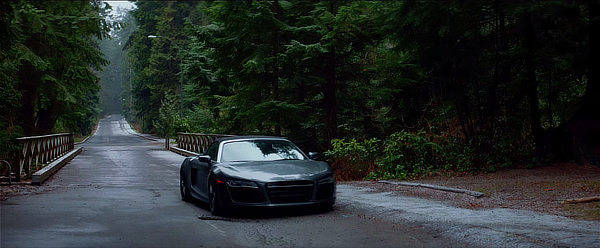 Audi R8 in 50 Shades of Grey (2015, Focus, screen capture)