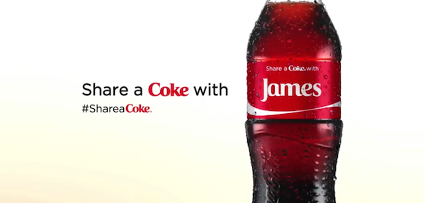 Coca-Cola: Share a Coke