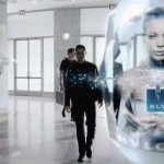As seen in Minority Report: personalized ads and remarketing