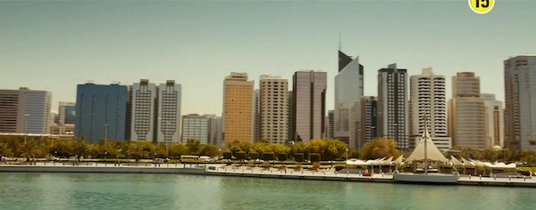 Abu Dhabi in Furious 7 (2015, Universal, screen capture)