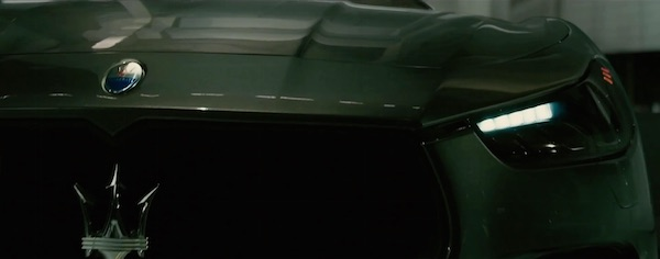 Maserati in Furious 7 (2015, Universal, screen capture)