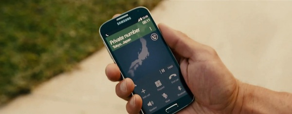 Samsung in Furious 7 (2015, Universal, screen capture)