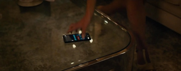 Windows phone in Furious 7 (2015, Universal, screen capture)