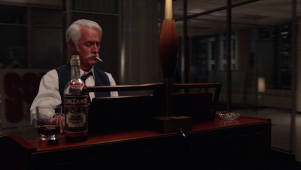 Cinzano in Mad Men (2015, AMC, screen capture)