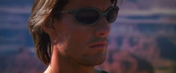 Oakley sunglasses in Mission: Impossible 2  (2000, Paramount, screen capture)