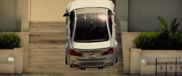 BMW M3 in Mission: Impossible - Rogue Nation (2015, Paramount, screen capture)