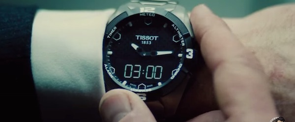 Tissot in Mission: Impossible - Rogue Nation (2015, Paramount, screen capture)