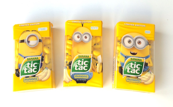 Tic Tac and Minions