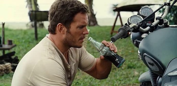 Coca Cola in Jurassic World (2015, Universal, screen capture)