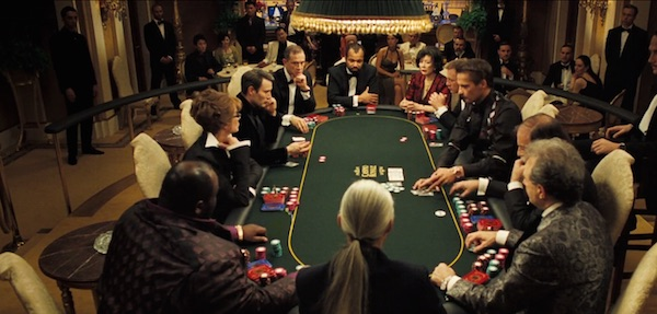 Poker scene from Casino Royale (2006, MGM and Columbia Pictures, screen capture)