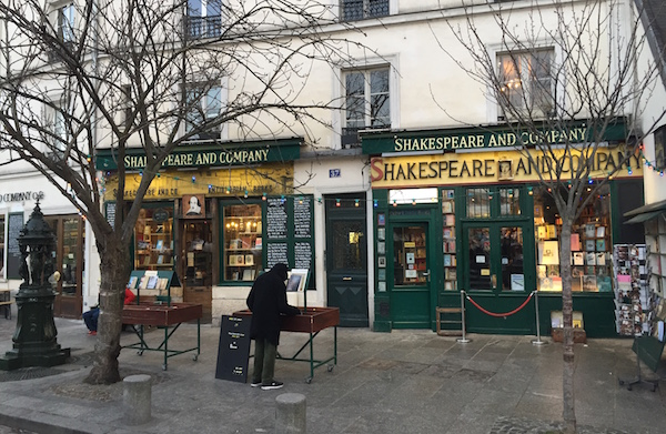 Shakespeare and Company bookstore in Paris