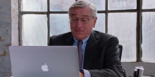 Product placement in pictures: The Intern