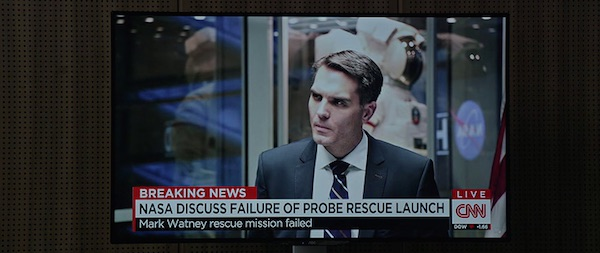 CNN's product placement in The Martian (2015, 20th Century Fox, screen capture)