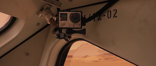 GoPro's product placement in The Martian (2015, 20th Century Fox, screen capture)