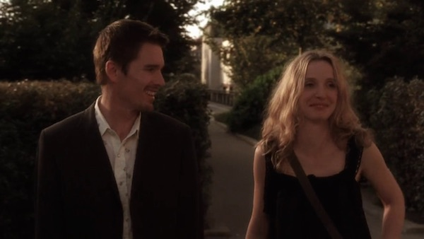 Promenade Plantee from Before Sunset (2004, Castle Rock, screen capture)
