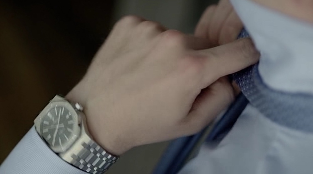 Audemars Piguet Royal Oak in Mr. Robot (2015, USA Network, screen capture)